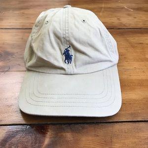 Tan Polo Hat